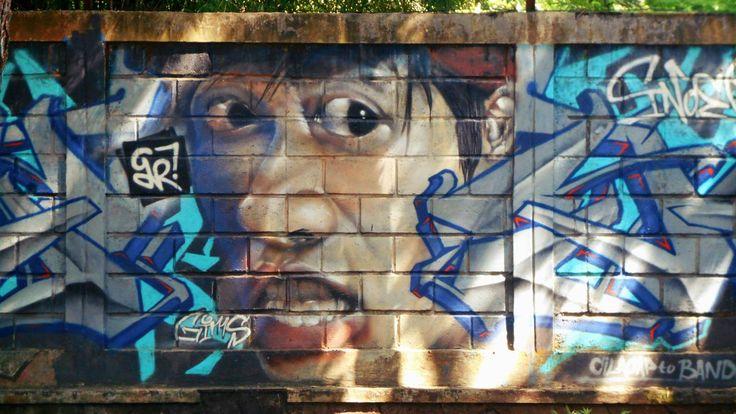 Karya seniman jalanan modern Bandung