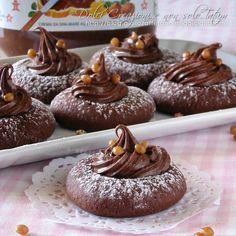 Biscotti con impasto alla Nutella