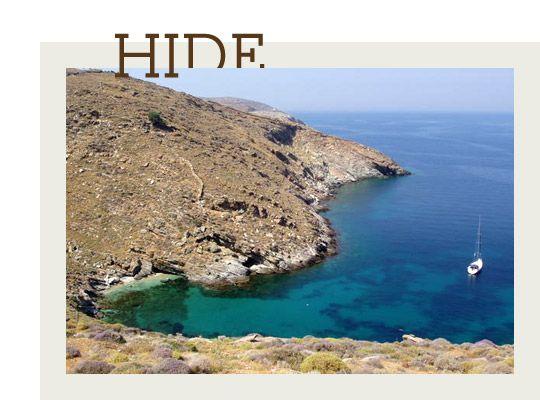 Discover hidden beaches
