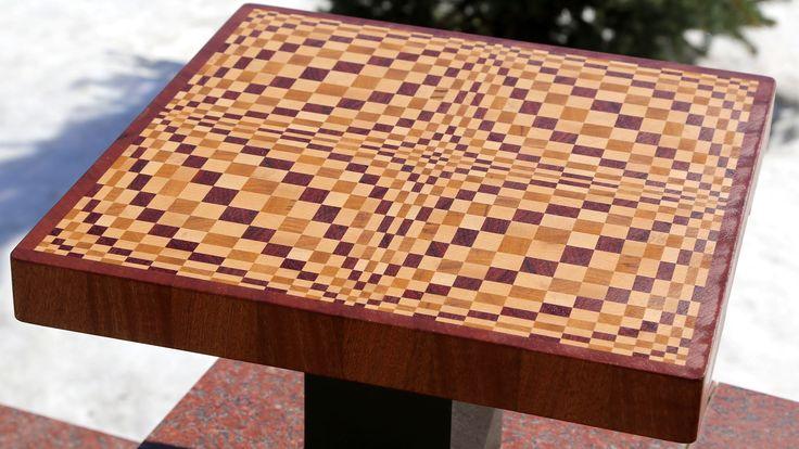 "Making a ""Wave"" 3D end grain cutting board"