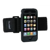 Tuneband for iPhone 3G and iPhone 3GS, Grantwood Technology's Armband, Silicone Skin, and Screen Protector, Black (Wireless Phone Accessory)By Grantwood Technology