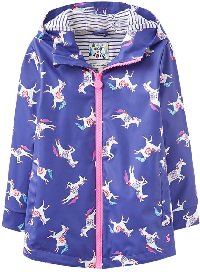 Joules Horse Hooded Coat