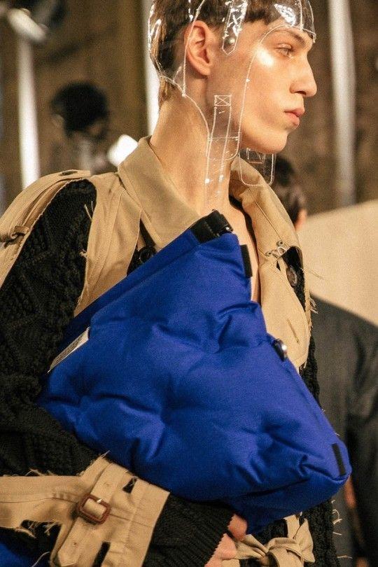 Maison Margiela by John Galliano, Menswear Fall 2018 show; Look 9, Kacper Grzelak.
