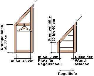 17 best ideas about schrank selbst bauen dachschr ge on. Black Bedroom Furniture Sets. Home Design Ideas