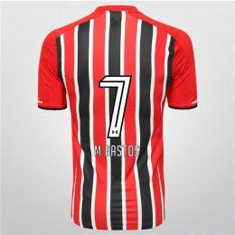 Sao Paulo FC 2015-16 Season Away M.Bastos #7 Jersey [PF1603487749]