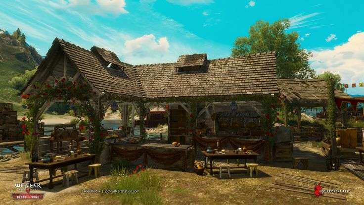 ArtStation - The Witcher 3: Blood and Wine, javier pintor