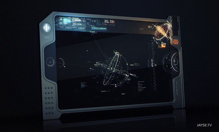 Tablet Interface from Enders Game