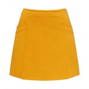 alice a-line mini skirt Spiced Ochre - Womens Fashion | Forever New