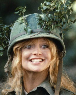 Goldie Hawn from Private Benjamin movie