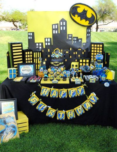 BATMAN Birthday Party - COMPLETE-