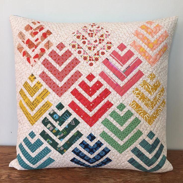 629 Likes 65 Comments - Rachel McCormack (@rachelwoodenspoon) on Instagram: \u201c. Felt PillowQuilted PillowCushion IdeasPillow IdeasHandmade ...