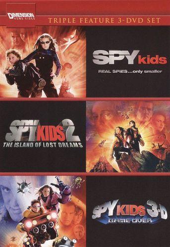Spy Kids/Spy Kids 2: Island of Lost Dreams/Spy Kids 3: Game Over [4 Discs] [DVD]