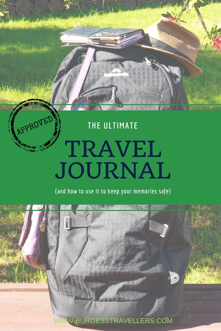 Journaling on the Road: How to record your travels with Travelers Notebook www.burgesstravellers.com