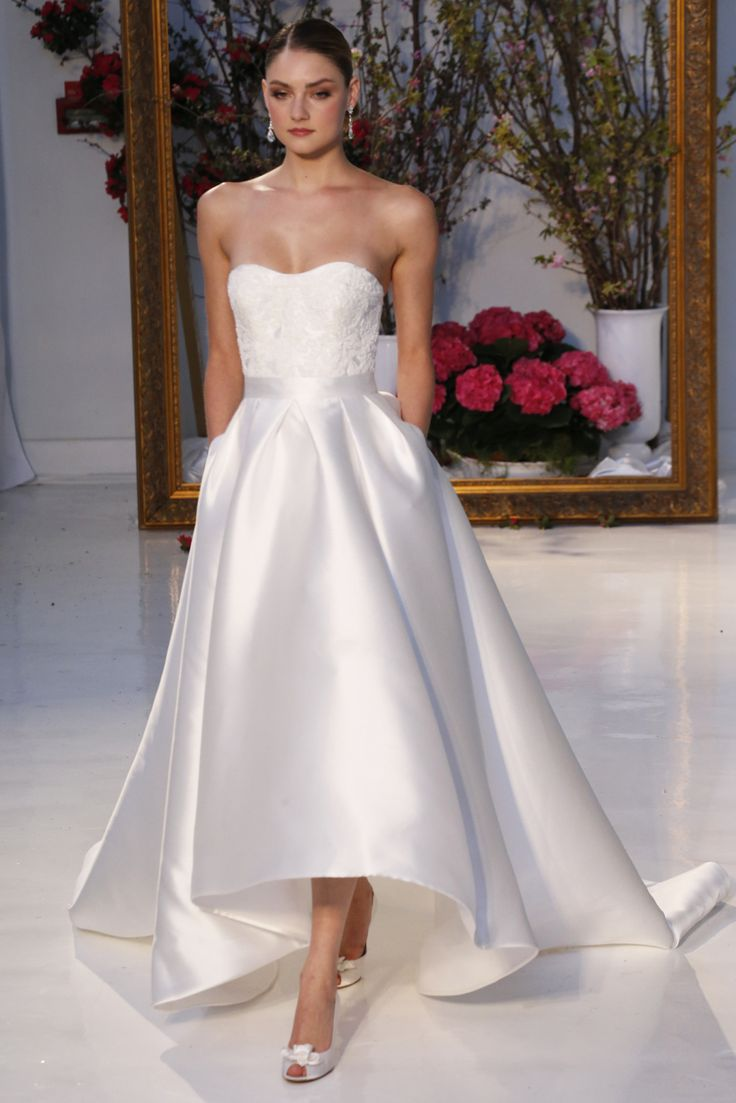 Cheap wedding dresses short front long back   best wedding dress images on Pinterest  Bridal gowns