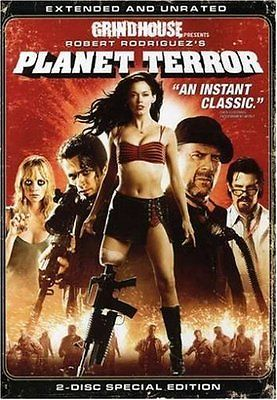 Planet Terror Movie 2007, DVD, Factory Sealed, New, Free Shipping