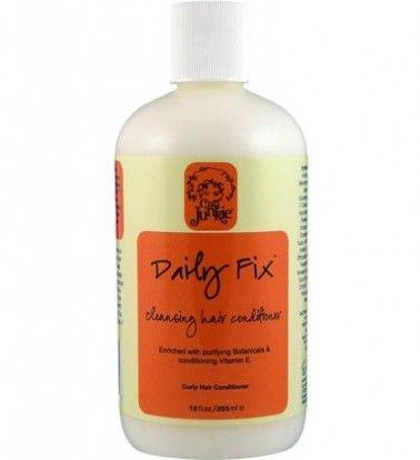 Daily Fix cleansing hair conditioner. Reviewer said continues the tradition by providing great, nourishing, all-natural ingredients while simultaneously renewing the scalp and cleaning every strand. This conditioner claims to remove mineral deposits from hard water and even the heaviest of silicones, so if you're one for loads of products to keep your hair, but don't want to use harsh detergents, this may be the one for you.