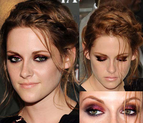 kristen-stewart-eclipse-screening-smoky-burgundy-eye-makeup