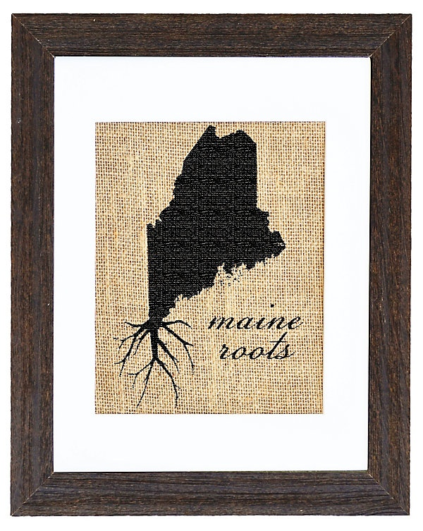 One Kings Lane - Map It Out - Maine Roots