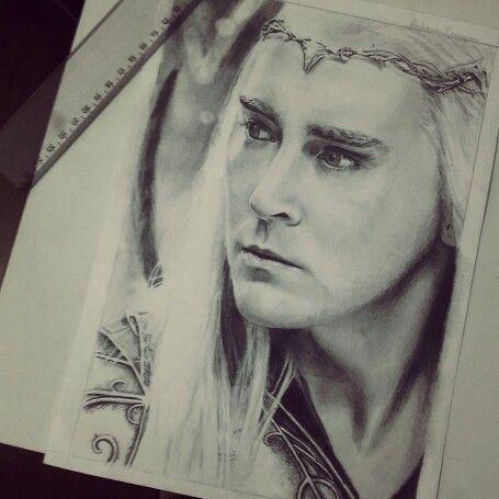 Thranduil - The Elven King (The Hobbit) #LOTR #elvenqueen Lee Pace