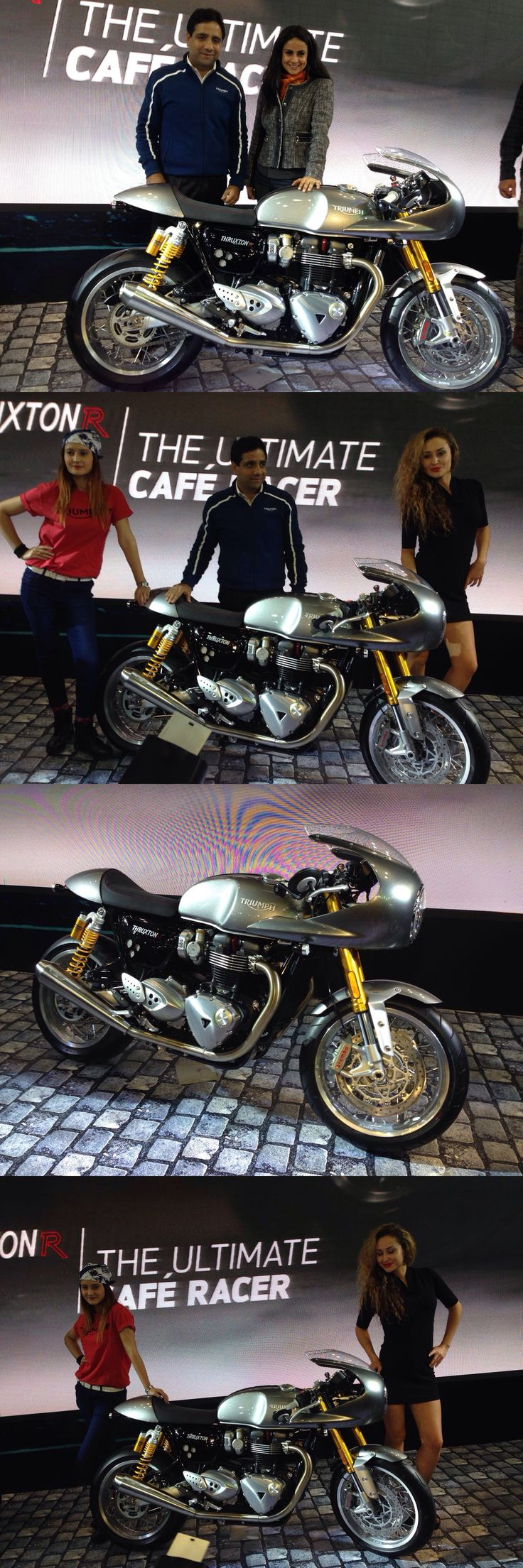 Finally wait is over ! Gul Panag - Official FB and Triumph Motorcycles India came together for the unveiling of #Triumph #Thruxton R.