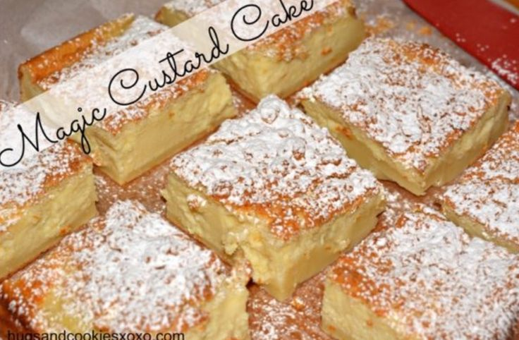 This Magic Custard Cake has been a sensation and it's easy to see why. We've included the easy recipe and also a short video to show you how to make it.