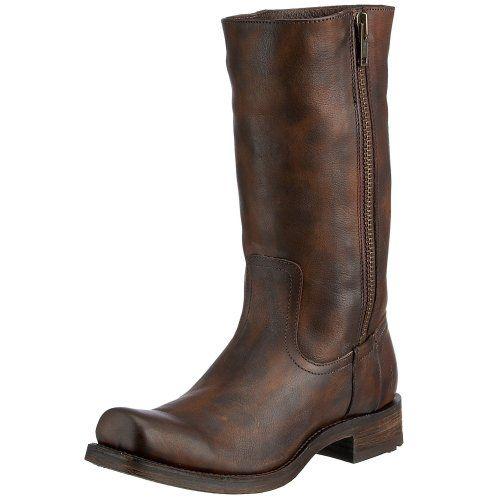 FRYE Men's Heath Outside Zip Boot, 87652-Maple, 10.5 M - http://authenticboots.com/frye-mens-heath-outside-zip-boot-87652-maple-10-5-m/