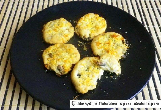Tökmagos sajtos keksz