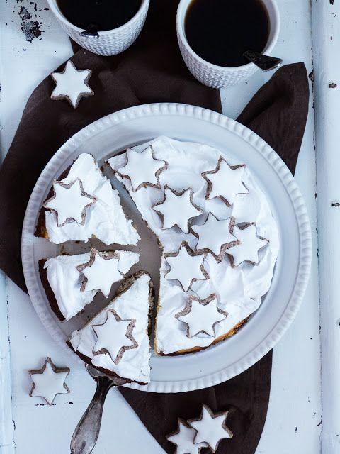 Zimtstern Cheesecake mit Baiserhaube | Meine Küchenschlacht