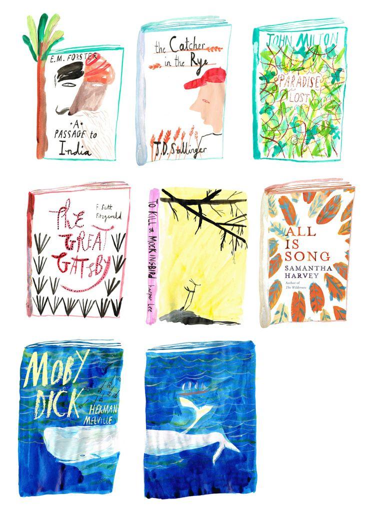 Book Jackets : Hannah Rollings