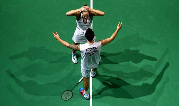 Chris and Gabby Adcock win mixed doubles crown at World Superseries Finals in Dubai