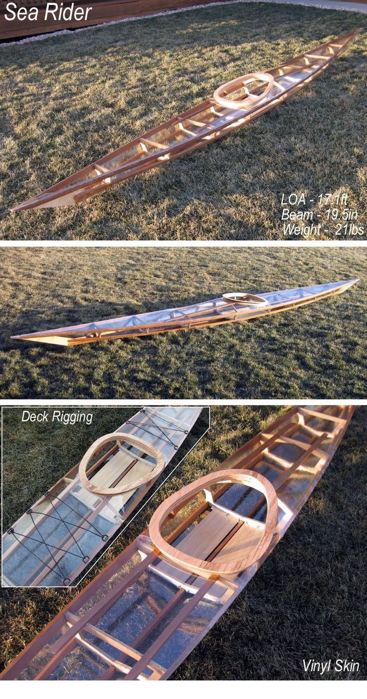 Skin on frame kayak plans - Folding Kayak Builders Manual New Designs Piel De Vinilo