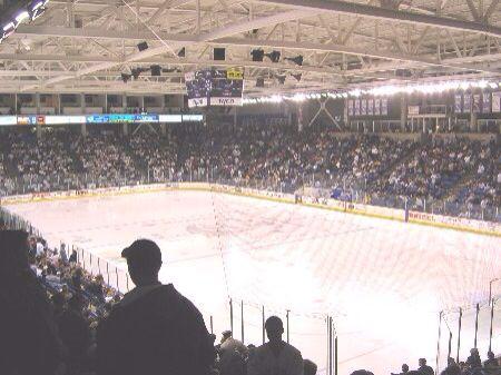 University of New Hampshire Hockey Arena in Durham, NH