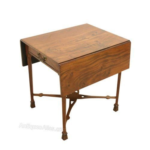 Unusual Mahogany Pembroke Table. 79 best Edinburgh Scottish Antiques images on Pinterest