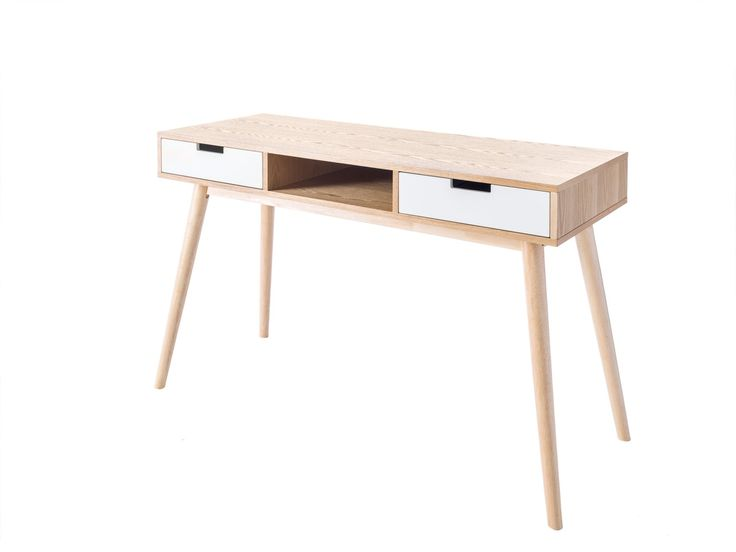 Update Your Home Office With The Marlow Desk Made New Zealand Pine And Offset Against Crisp White Drawers This Is Both Warm Elegant