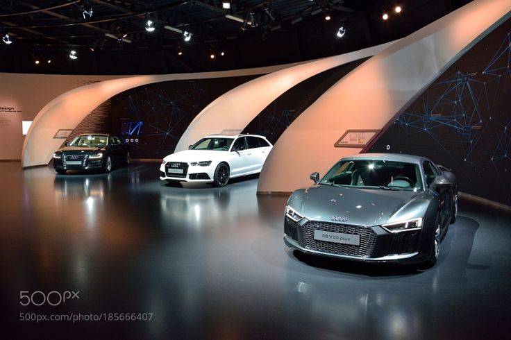Audi R8 V10 Plus RS6 and A8L W12 cars by baku1