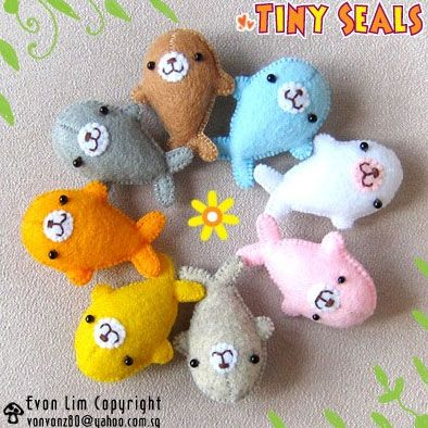 Image detail for -Cuteable » Blog Archive » vonvonz felt/fabric plush animals