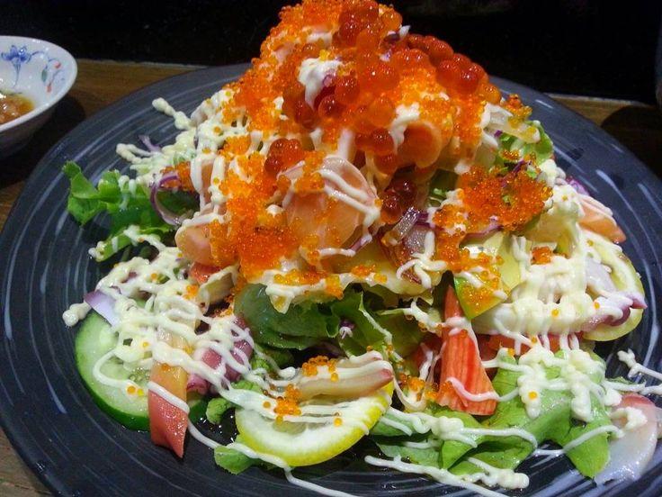 Salad@ร้านอาหาร Sushi Hiro