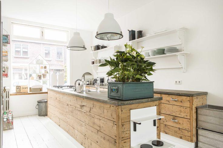 Kitchen. Lees ons verhaal in de VT wonen (juli 2015) http://www.vtwonen.nl/binnenkijken/vtwonen-binnenkijkers/jaren-20-huis-in-amersfoort/
