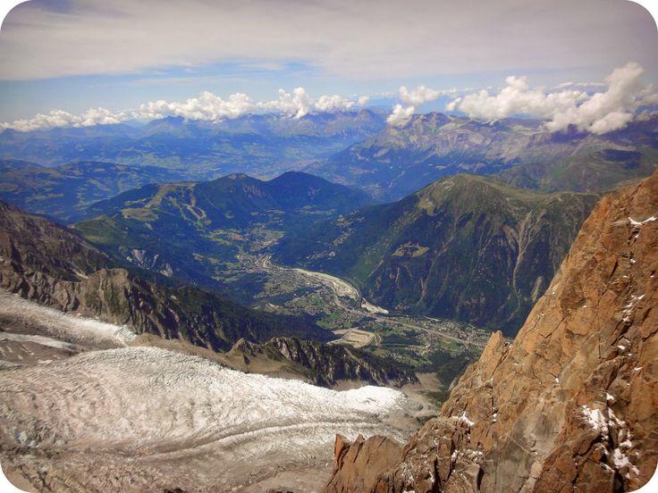 Ninelly: Chamonix Mont Blanc. Aguile du Midi