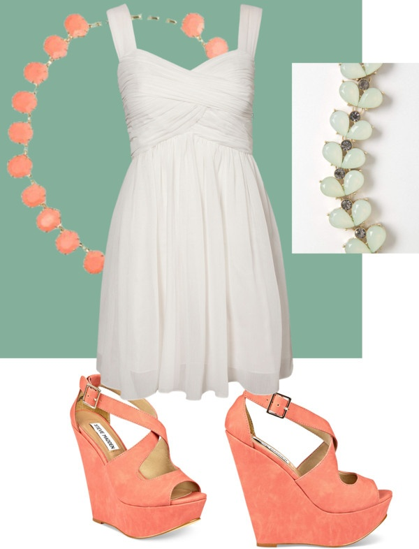 """Graduation Outfit (the green is the color of our robes)"" by catlindennis on Polyvore"