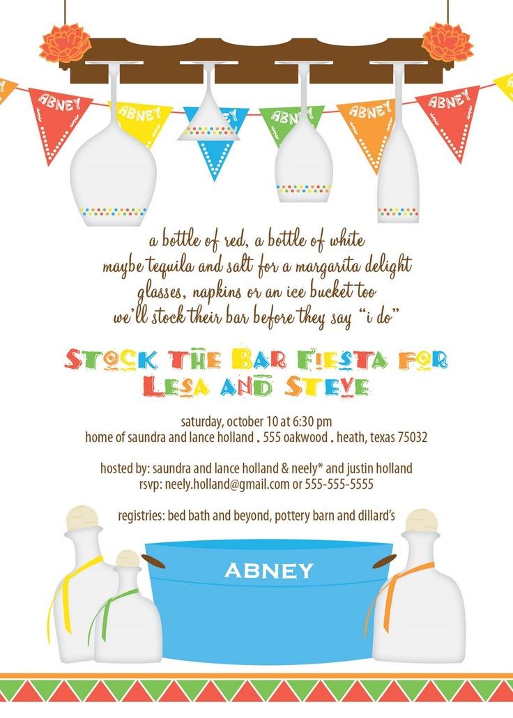 Enchanting Stock The Bar Party Invitation Ideas - Invitation Card ...