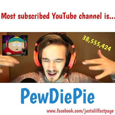 Just a lil fact!: Just a PewDiePie YouTube fact!