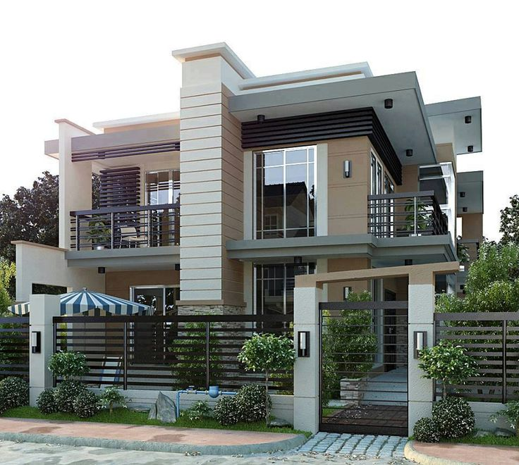 Modern Residential House Conceptual #Design | Ideas For The House