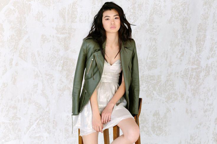 Basic luxe uses natural fabrics in a bohemian vibe. Model: Estelle Chen // Photographer: Felix Forest // Stylist: Edwina Robinson // Hair: Juliana Marcs // Beauty: Filomena Natoli #Fashion #Style #Luxe #Basic #TonalLuxe #Natural #Elements #Fabrication #PFW #LFW #MFW #NYFW #MBFWA #Leather #Linen #Denim #DesignerClothing #OnlineShopping #HighFashion #OnlineMagazine #StyleEdit