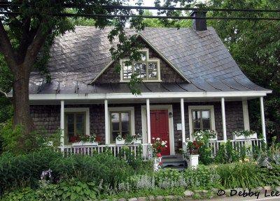 A home at Ile d'Orleans, Quebec City.