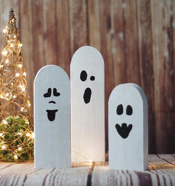 Halloween Ghosts Rustic Halloween Decor Primitive Ghost