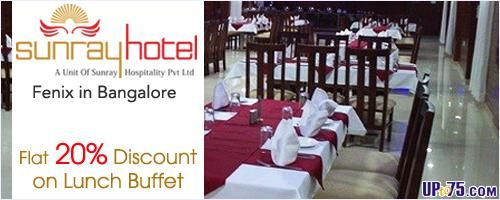 great discount for food lovers........