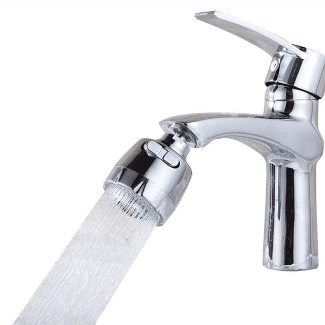 2 Modes Faucet Extender Abs Stainless Steel Bathroom Water Saver 360 Degrees Rotation Kitchen Faucets Filter Water Tap Aerators Review Faucet Extender Kitchen Faucet Stainless Steel Bathroom