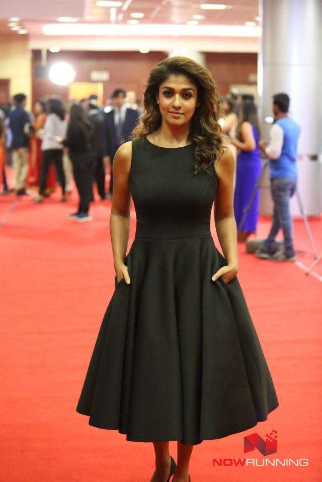 Nayantara at 63rd Britannia Filmfare Awards 2016