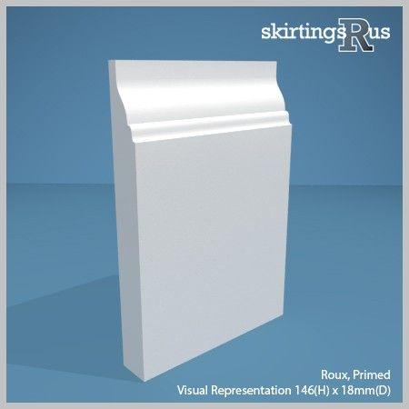 Roux MDF Skirting Board | Skirting Board | Skirtings R Us